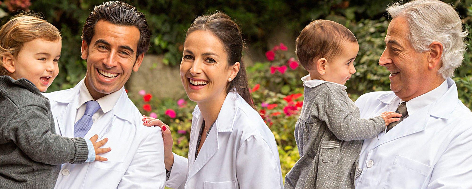 Equipo Anfruns niños clínica dental anfruns